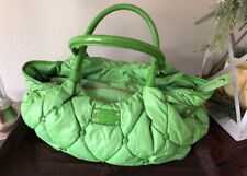 Kate Spade NY Coney Island Stevie Baby Bag Quilted Studded Tote Large *GUC*