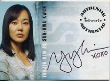 Lost Season 2 Autograph Card A14 Yunjin Kim