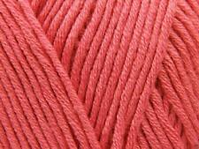 King Cole BAMBOO Cotton DK Knitting Wool / Yarn 100g - 642 Sugar Pink