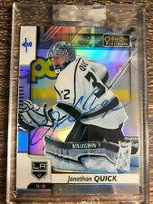 Jonathan Quick 2019-20 Upper Deck Buybacks O-Pee-Chee Platinum Auto SP #4/10