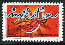 TIMBRE FRANCE AUTOADHESIF OBLITERE N° 354 / TIMBRE POUR INVITATION
