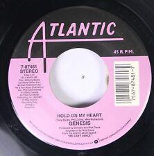 Rock 45 Genesis - Hold On My Heart / Way Of The World On Atlantic