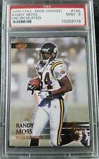 2000 Collectors Edge - RANDY MOSS UNCIRCULATED /5000 - PSA 9 - Minnesota Vikings