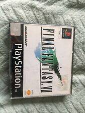 Final Fantasy VII 7 - PLAYSTATION PS1 PAL COMPLETE