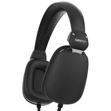 Betron HD500 Headphones On Ear Headset Bass Driven Sound Lightweight AUX Jack