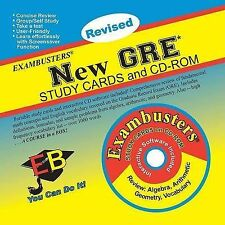 NEW Ace's Exambusters New GRE CD-Rom & Study Cards by Ace Academics