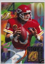 JOE MONTANA 1994 FLEER FLAIR HOT NUMBERS 19