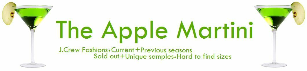 The Apple Martini