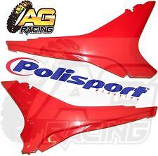 Polisport Red UpperPlastic Side Panels For Honda CRF 450R 2009-2010 Motocross