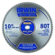 "NEW IRWIN 4935561 MARATHON 10""  60 TPI FERROUS STEEL CARBIDE CIRCULAR SAW BLADE"