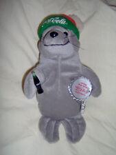 Coca-Cola Seal in Ski Cap Bean Bag Plush style 0114