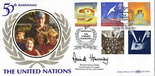 2 MAY 1995 PEACE & FREEDOM VE DAY BENHAM BLCS 105 SIGNED FIRST DAY COVER SHS