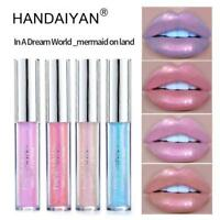 Lip Gloss Moisturizing Shimmer Mermaid Dazzling Color Lip Glaze Makeup Beauty