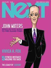 NeXT Magazine John Waters Glen Hanson Cover, LOOKING Movie Philadelphia 2016 Gay