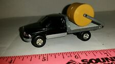 1/64 CUSTOM ERTL farm toy 97 dodge 2500 flatbed bale hauler pickup truck dually