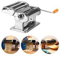 Pasta Lasagne Spaghetti Tagliatelle Maker Machine Stainless Steel 14cmUK