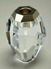 "Swarovski Silex ""Clear"" Candle Holder - Nib"