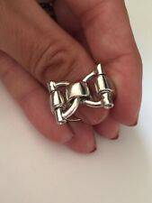 Sterling Silver Vintage Ring Anello Argento 925