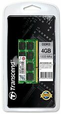 4GBx2 =8GB Transcend DDR3 JetRam 1333MHz   Apple MacBook Pro  iMac Memory  RAM