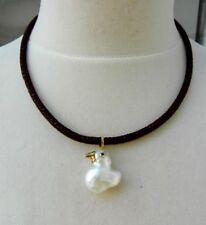 Collares y colgantes de joyería con diamantes perla