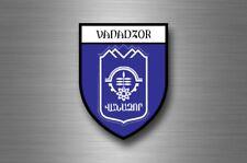 Sticker decal souvenir car coat arms shield city travel armenia Vanadzor