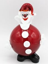 Babbo Natale Collection Murano Glass H18 cm Made in Italy