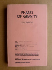 PHASES OF GRAVITY Dan Simmons SIGNED Uncorrected Proof of the 1st edition vfine