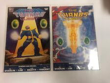 Thanos Quest (1990) # 1 2 (NM) Complete Set