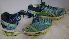 Women's ASICS Gel-Cumulus 16, Running Shoes, Blue w wings, T489N, US 8.5 Eur 40