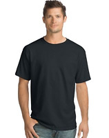 NEW-Hanes 4 Pack ComfortSoft Men's Short-Sleeve Crewneck T-Shirt 15 Colors S-3XL