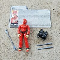 Vintage GI Joe Figure 1987 Jinx complete with file card