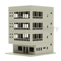 Unpainted Models Railway Modern School Office Building Train N HO OO Scale  AU