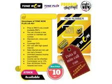 Prepaid Sim Card Tone Wow Plus Lite 4G+ (New Number)