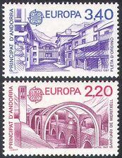 Andorra 1987 Europa/Church/Ordino/Buildings/Architecture/Animation 2v set n41855