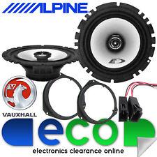 VAUXHALL Vectra C 2002–2009 Alpine 440 Watts Rear Door Car Speakers Upgrade Kit