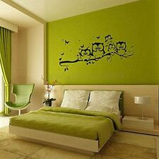 Decor Vinyl Nursery Wall Decal Owl Sticker Kids Room Sticker