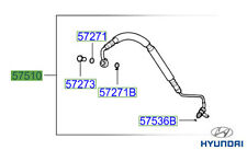 Genuine Hyundai Santa Fe 2006- Power Steering Cooler Pipe - 575102B900