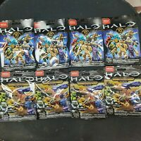 MEGA CONSTRUX BLOKS HALO 8 SEALED  BLIND BAGS 10th Anniversary clash on the ring