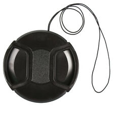 77mm Center Pinch Snap Front Cap For Sony Canon Nikon SLR Camera Lens Filters