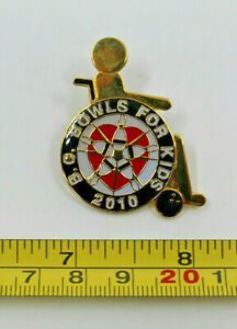 Bowling B.C Bowls For Kids 2010 Children's Charity Collectible Pin Canada