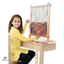 Weaving Loom Kit For Kids Beginners Lap Table Toys Supplies Knitting Patterns