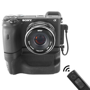 Meike A6600 Pro Vertical Battery Grip with Wireless Remote  for Sony a6600