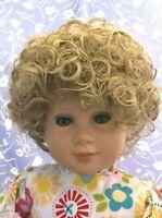 Monique Tiffany Light Blonde Full Adj. Cap Size 14-15 Curly, Short