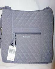 Vera Bradley Hipster Crossbody Messenger Bag Carbon Gray