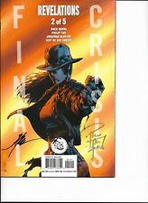 FINAL CRISIS -REVELATIONS 2 OF 5 MINT -HAND SIGNED BY THE ARTIST-CERTIFICATE INC