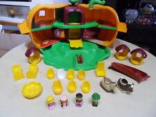 Ancien Jouet Citrouille magique VULLI famille Klorofil family Vintage toys 80's