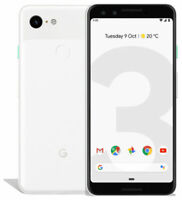 Google Pixel 3 - 64GB Clearly White (Factory Unlocked) - AT&T - T-Mobile Verizon