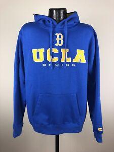 Men's Colosseum UCLA Bruins Blue Zone II Dual Blend Fleece Hoodie NWT 2XL