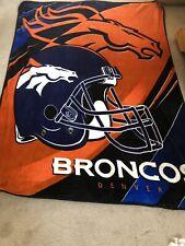 Bronco fleece blanket
