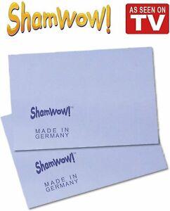 The Original Shamwow Mini - Super Absorbent Multi-Purpose Cleaning Shammy...